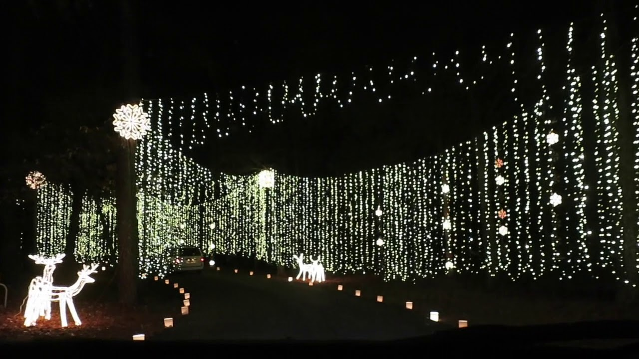 Huntsville Botanical Garden Galaxy Of Lights Beingmommywithstyle Youtube