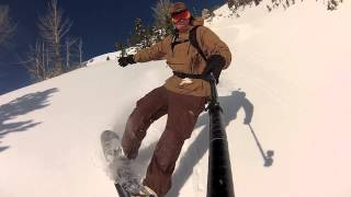 The South Face Of Jensen. Jackson Hole Backcountry Snowboarding Thumbnail