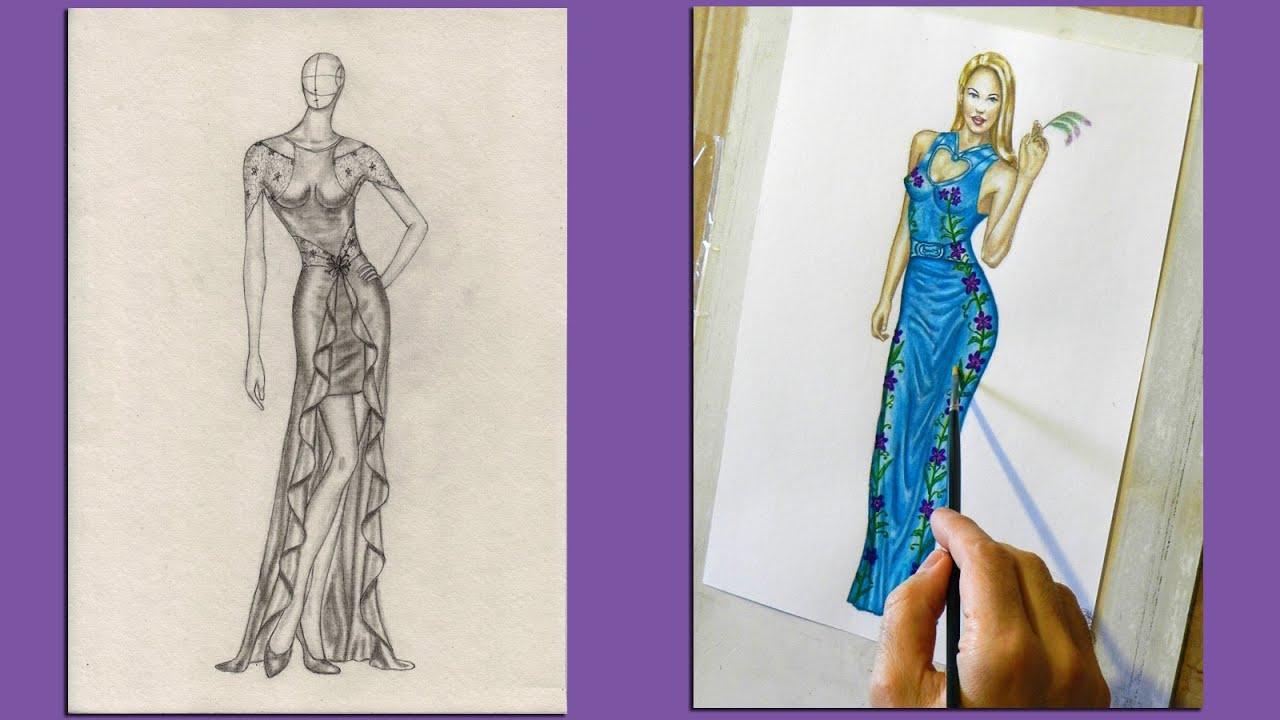 Disegni di vestiti di moda vt32 pineglen - Porta abiti design ...