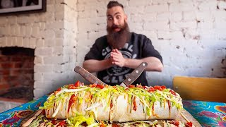 THE TAP OUT BURRITO CHALLENGE & EATING OYSTERS FOR TV | The Ch…