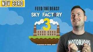 Sips Plays Minecraft: Skyfactory 3 Hardcore - (23/11/20)