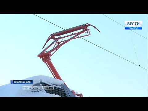 видео: Самые мощные электровозы в мире работают в Приморье
