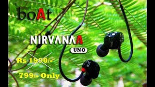 boAt In Ear Earphones -Nirvanaa Uno | Unboxing & Review