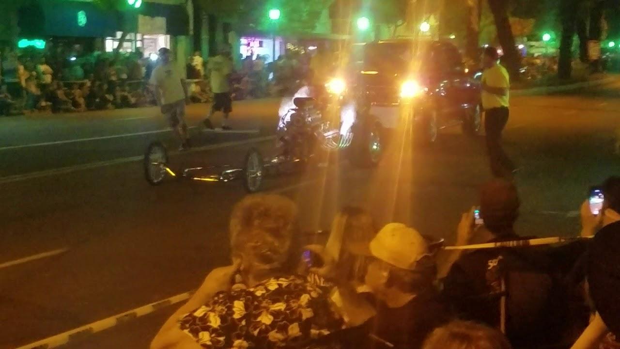 Nitro Night Crusin Grand Cackle Car Hot Rod Reunion Nhra Top Fuel