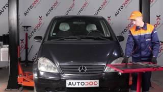 Montáž Lanko Ruční Brzdy MERCEDES-BENZ A-CLASS (W168): video zdarma