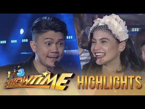It's Showtime PUROKatatawanan: Vhong gets Anne's joke