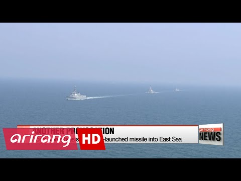 NEWSLINE AT NOON 12:00 N. Korea fires submarine-launched ballistic missile into East Sea