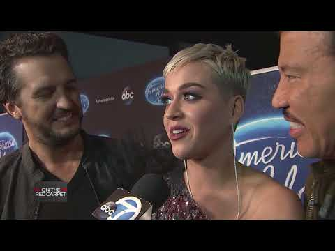 KATY PERRY talks about Frock & Roll Costume Exhibit at the GRAMMY Musuem