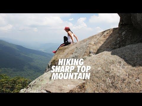 Hiking Sharp Top Mountain