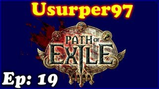 Ep19 So Misleading these Quests - Path of Exile - Usurper97