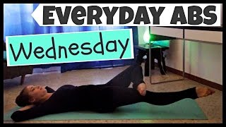 Everyday Abs Series - Wednesday [3.5 Minute Workout]