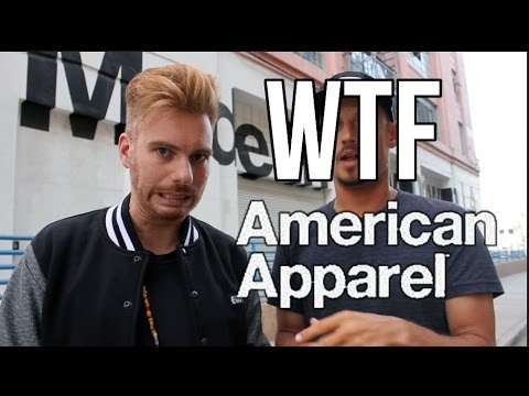 WTF Is Going On With American Apparel??!!