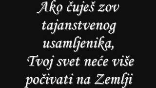 Nightwish Wishmaster Serbian lyrics Resimi