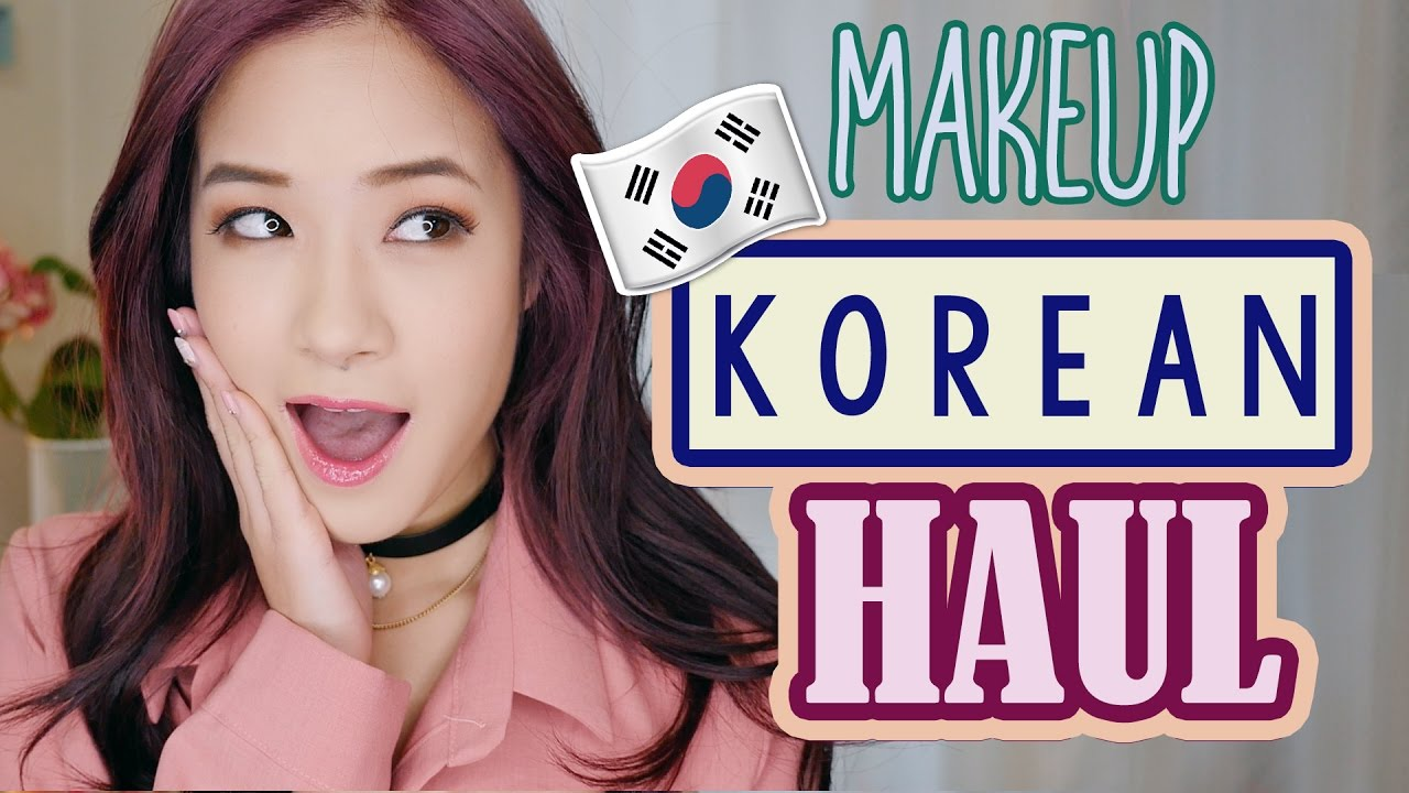 HUGE KOREAN MAKEUP SHOPPING HAUL | Kim Dao