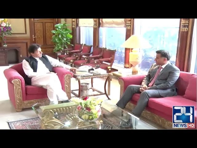 PM Imran Khan Meets Newly Appointed DG ISI Faiz Hameed