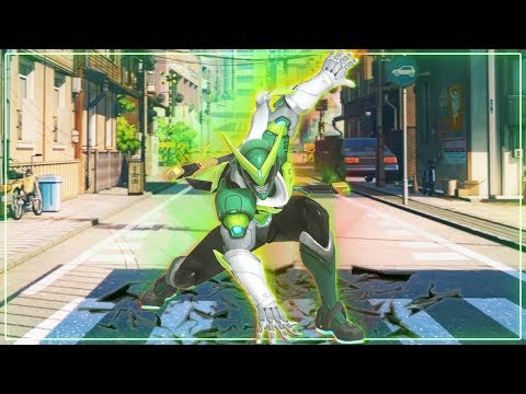 IS THAT THE REAL GENJI?! | Overwatch Genji Voice Acting