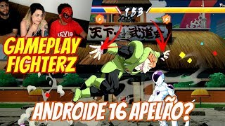 DRAGON BALL FIGHTERZ - Androide 16 apelão mata com 1 golpe! (PC Gameplay Português)