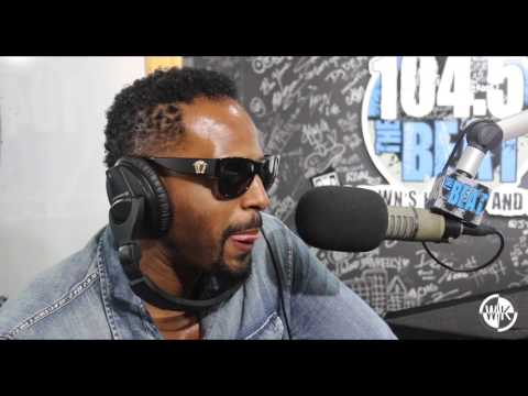 DJ DROYALE CHOPS IT UP WITH  SHAWN WAYANS ON 1O4.5 THE BEAT