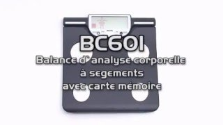 Video Pèse-personne impédancemètre TANITA BC 601 download MP3, 3GP, MP4, WEBM, AVI, FLV Agustus 2018