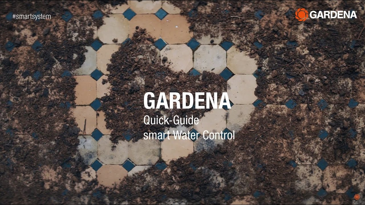 GARDENA smart Water Control Set - Kurzanleitung