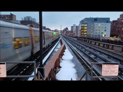 Metro North PM Rush Hour 3/8/18 Harlem 125th Street