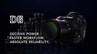 Nikon D6 Product Tour Video