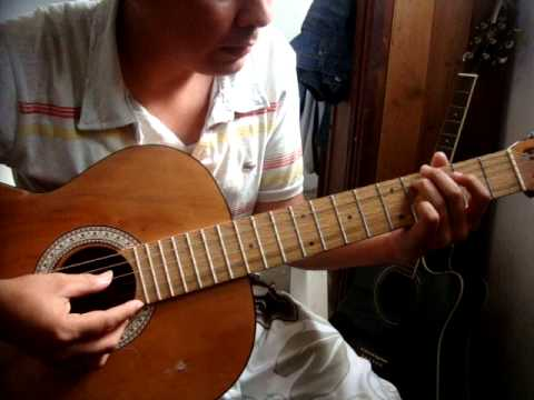 El Me Levantara Tutorial Guitarra (Tono Re Mayor)
