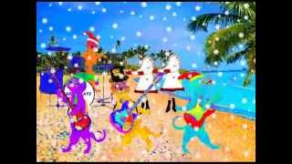 Artic Cats - Hawaiian Christmas