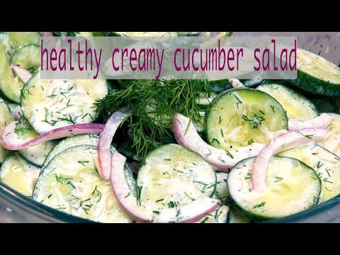 Summer time Cucumber Salad