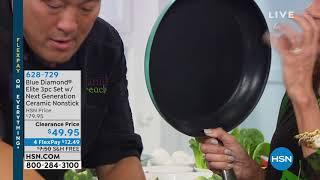 Blue Diamond Elite 3pc Cook Set w/Next Generation Cerami... thumbnail