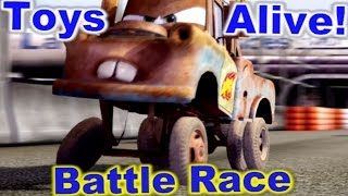 Cars 2: The video Game - Mater - Battle Race on Runway Tour.