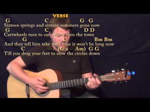Circle Game (Joni Mitchell) Strum Guitar Cover Lesson in G with Chords/Lyrics