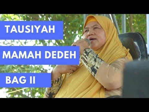 CERAMAH MAMAH DEDEH | SERU BANYAK YG TERSINGGUNG...