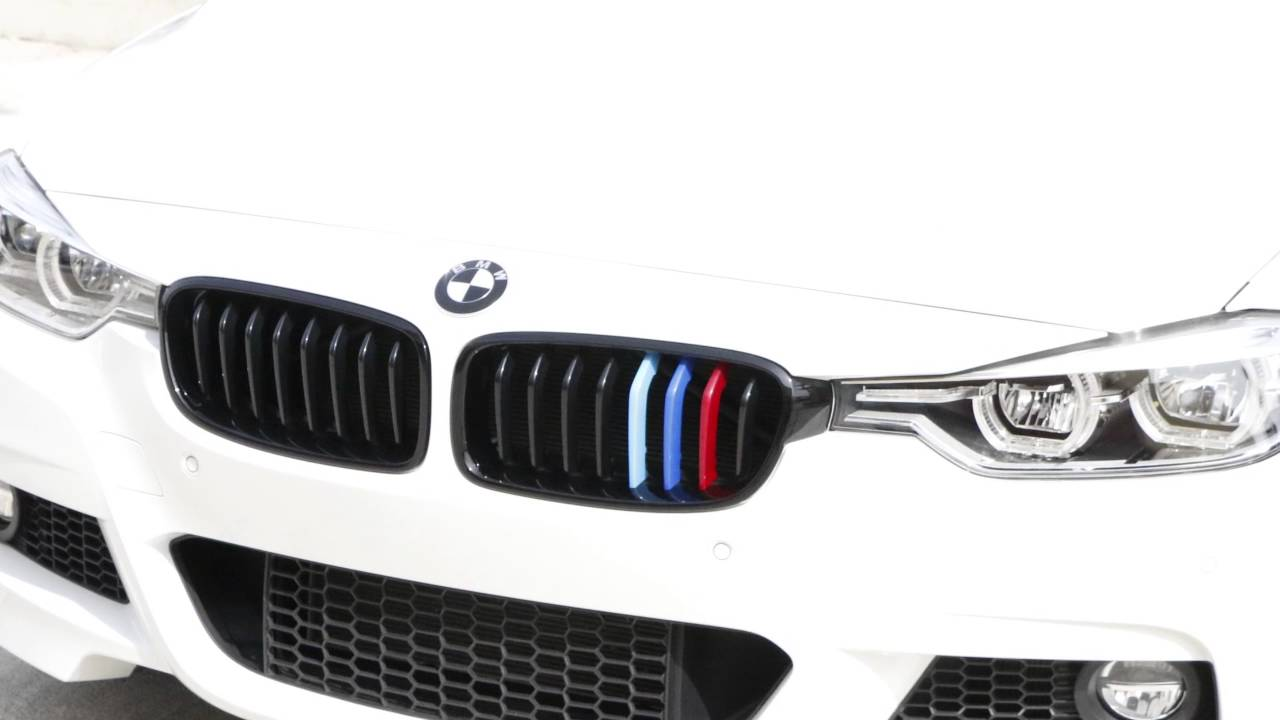 IJDMTOY BMW F Series MColored Grille Insert Trim Installation - Bmw grille stripe decals