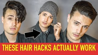 5 WEIRD Hairstyle Hacks for Better Hair That Actually Work!