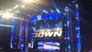 WWE Smackdown Opening Video and Pyro (Atlanta, GA) 2/24/15
