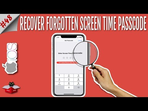 Forgot Screen Time Passcode? Recover & Reset Screen Time Passcode in