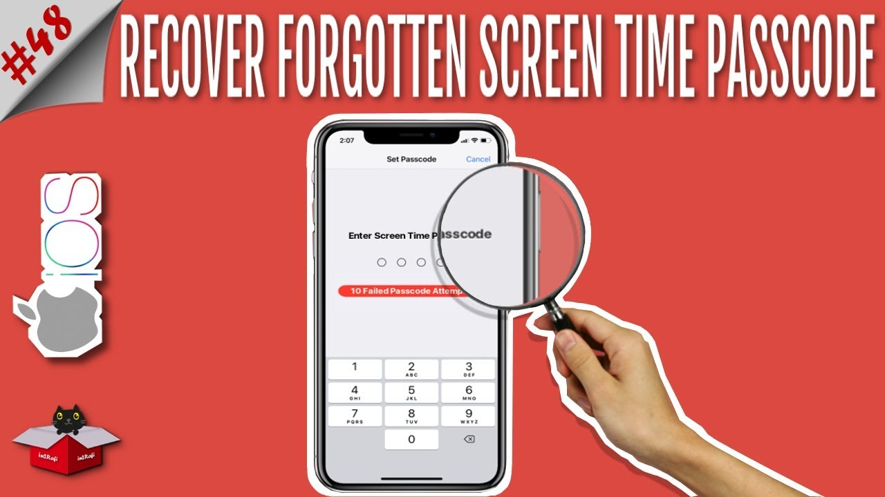Forgot Screen Time Passcode? Recover & Reset Screen Time Passcode in iOS 12  | iPhone/iPad/iPod Touch