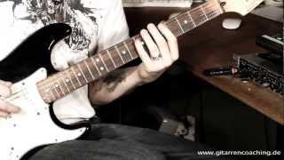 Gitarre lernen: Anschlag Workshop Part 3 Palm Mute und Drop D ( HD Gitarre)