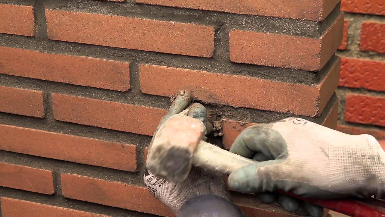 Consejos hazlo t mismo colocaci n de soporte para la - Como colocar ladrillos en una pared ...