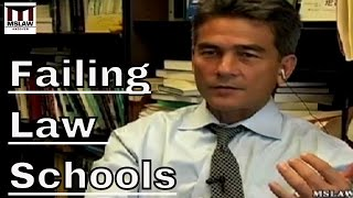 Failing Law Schools - A Moral Disaster: An interview with Brian Tamanaha