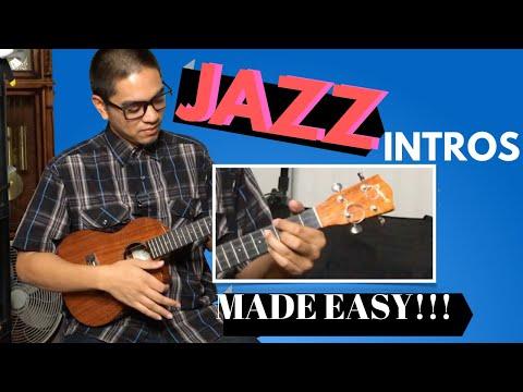 Easy Jazz Ukulele Lesson: How to Intro
