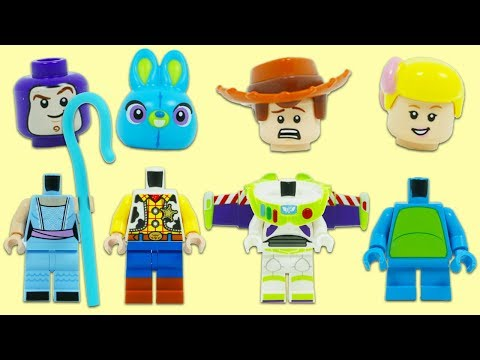 Disney Pixar Toy Story 4 Have Wrong Heads While Searching for Surprise Toys!
