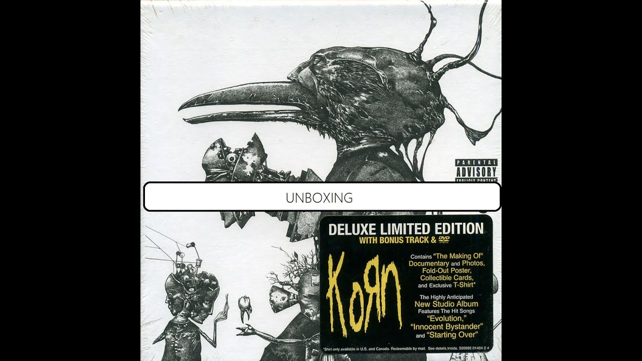 Korn - Untitled (Special Edition) Unboxing - YouTubeKorn Remember Who You Are Special Edition