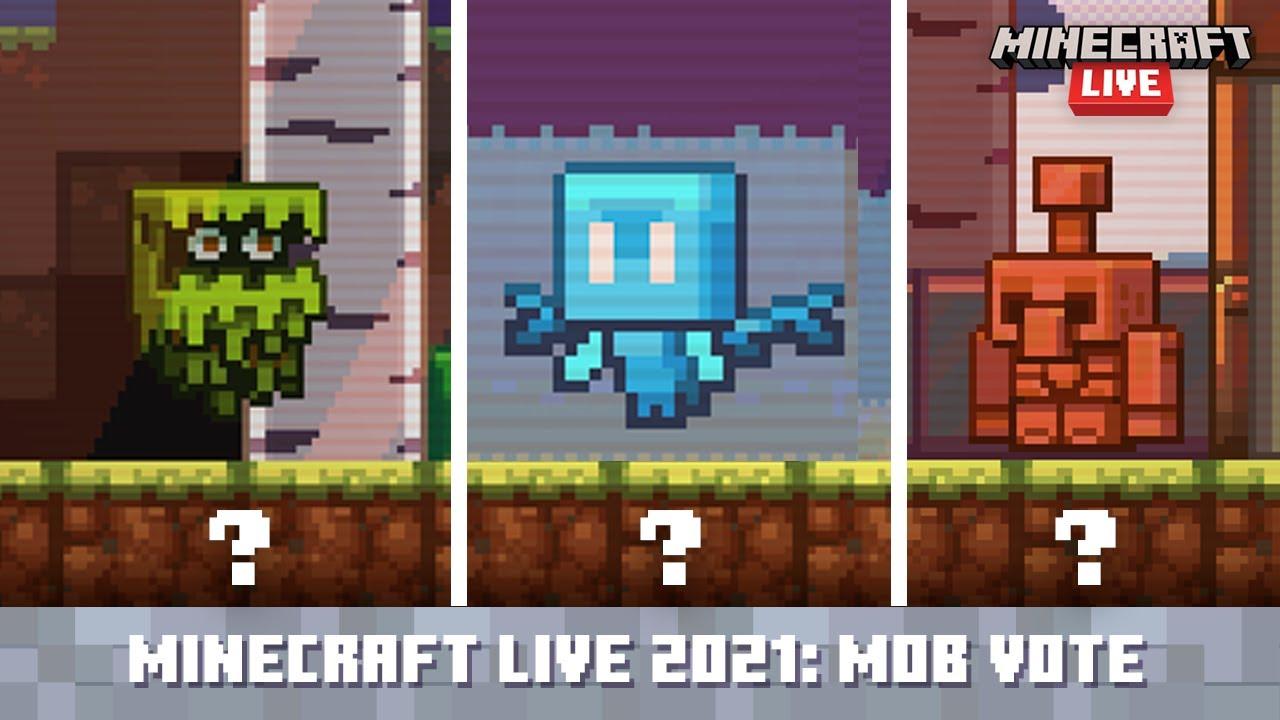 Download Minecraft Live 2021: The Mob Vote