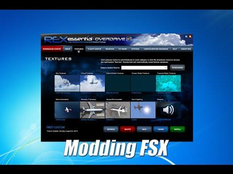 FSX Tutorial: Modding FSX