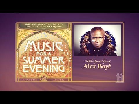 2017 Pioneer Concert with Alex Boyé - YouTube Live Stream Promo