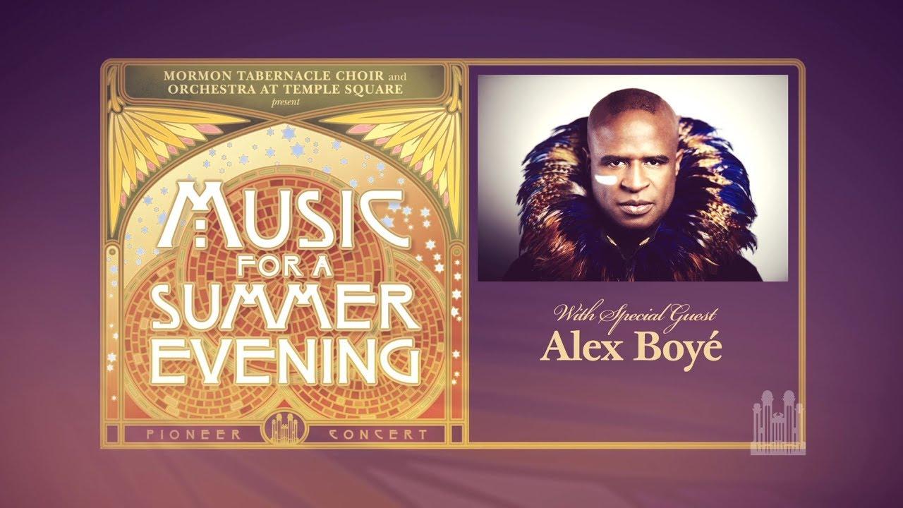 2017 Pioneer Concert with Alex Boyé - YouTube Live Stream Promo ...