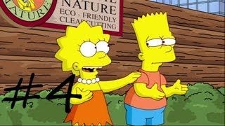 Les Simpson Le Jeu  - épisode 4 : Lisa l'écologiste | [Xbox 360] Let's play HD Français