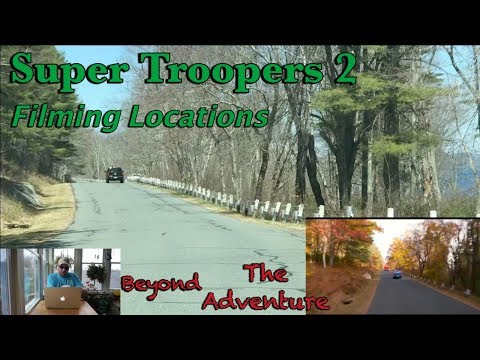 BTA: Super Troopers 2 Filming Locations (Quabbin)